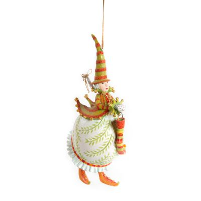 Patience Brewster Dash Away Mrs. Santa Ornament
