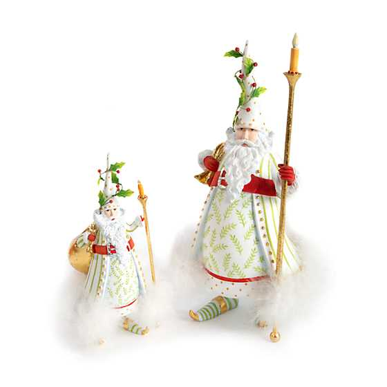 Patience Brewster Dash Away Candlelight Santa Figure image six