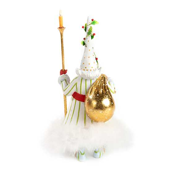 Patience Brewster Dash Away Candlelight Santa Figure image three