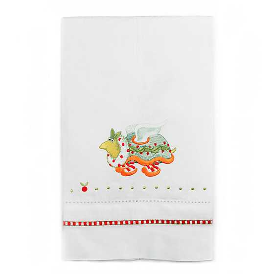 Patience Brewster 12 Days Turtle Dove Tea Towel