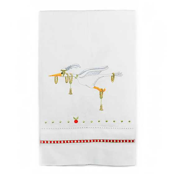 Patience Brewster 12 Days Golden Rings Tea Towel