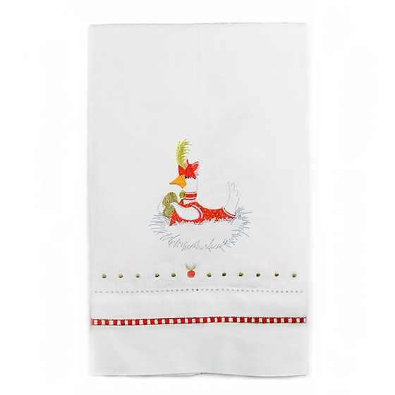 Patience Brewster 12 Days Goose a-Laying Tea Towel
