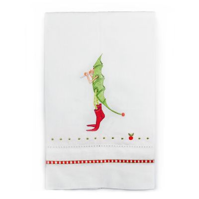 Patience Brewster 12 Days Piper Piping Tea Towel
