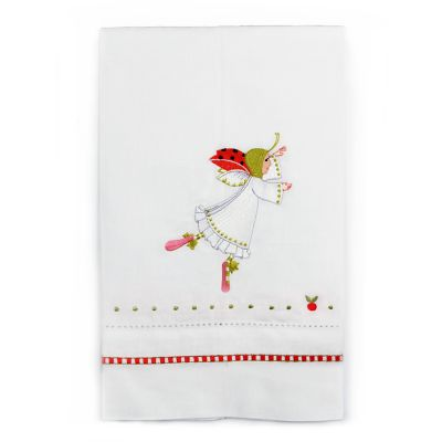 Patience Brewster 12 Days Lady Dancing Tea Towel