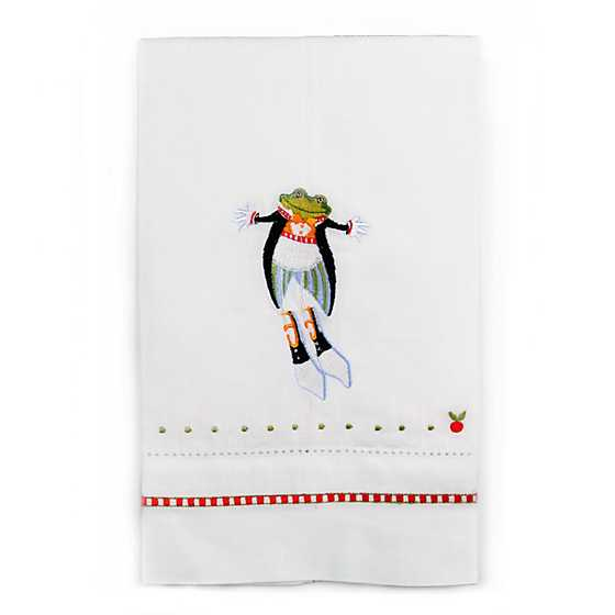 Patience Brewster 12 Days Lord a-Leaping Tea Towel image one