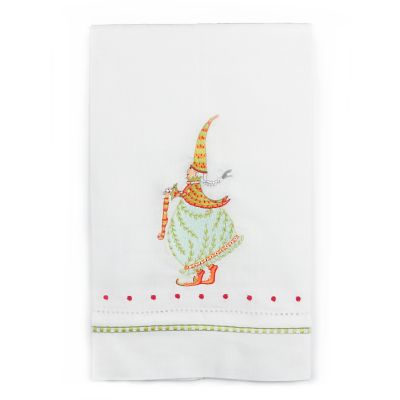Patience Brewster Dash Away Mrs. Santa Tea Towel