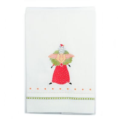 Patience Brewster Phyllis Pig Tea Towel