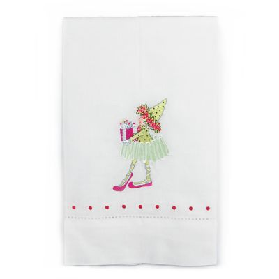 Patience Brewster Dash Away Dancer's Elf Tea Towel