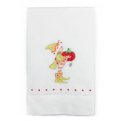 Patience Brewster Prancer's Elf Tea Towel