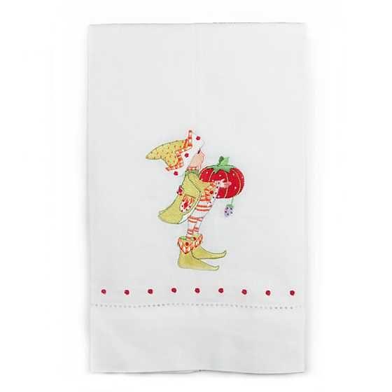Patience Brewster Dash Away Prancer's Elf Tea Towel