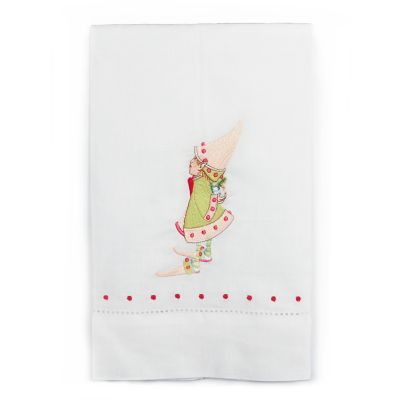 Patience Brewster Dash Away Cupid's Elf Tea Towel