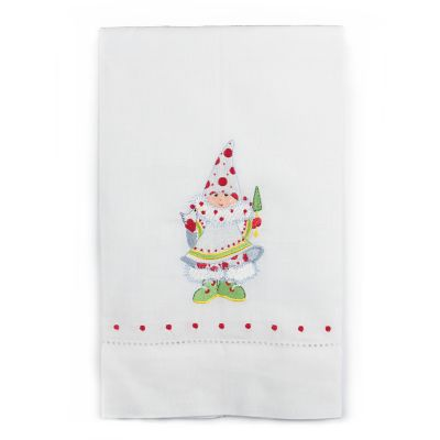 Patience Brewster Dash Away Blitzen's Elf Tea Towel