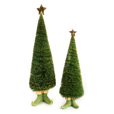 Patience Brewster Dash Away Sisal Elf Tree Figures