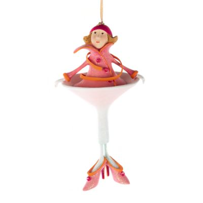 Patience Brewster Cosmopolitan Girl Ornament