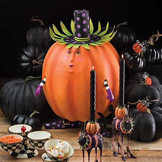 Patience Brewster Gourdon Pumpkin Display Figure image two