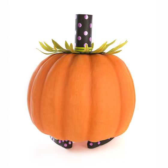 Patience Brewster Gourdon Pumpkin Display Figure image three