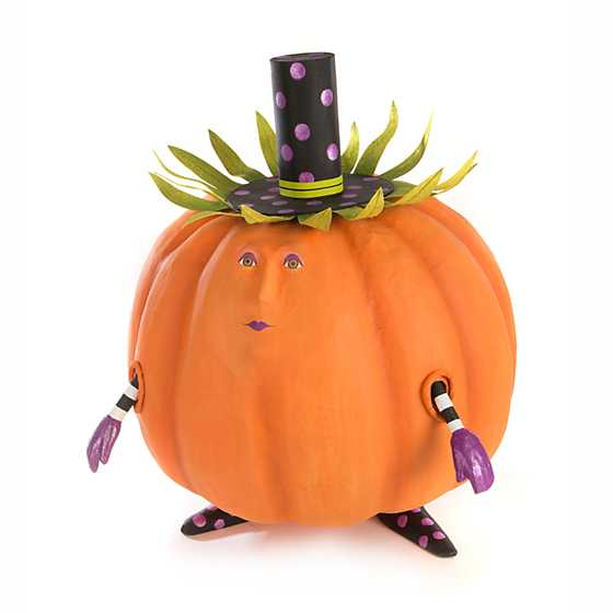 Patience Brewster Gourdon Pumpkin Display Figure image one