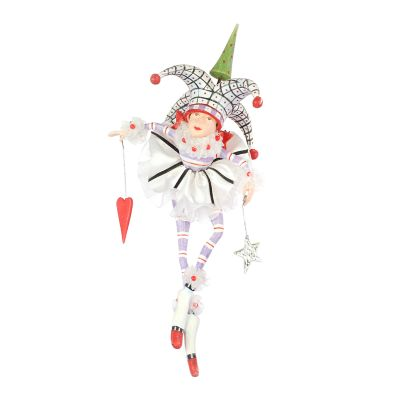 Patience Brewster Josie Joker of Hearts Ornament