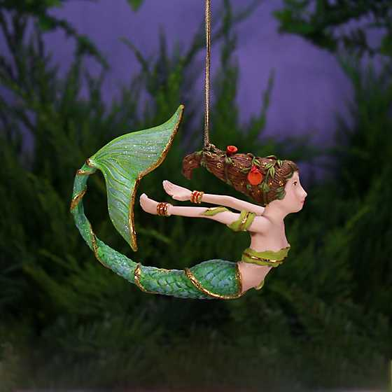 Patience Brewster Mercy Mermaid Ornament image one