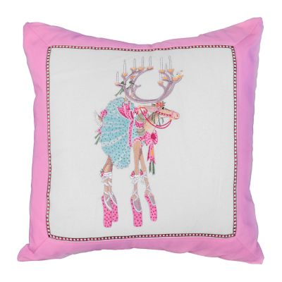 Patience Brewster Dash Away Dancer Pillow