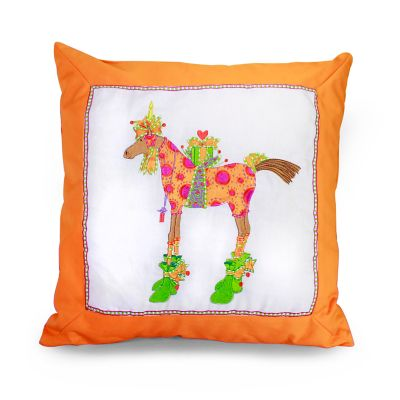 Patience Brewster Maisy Horse Pillow