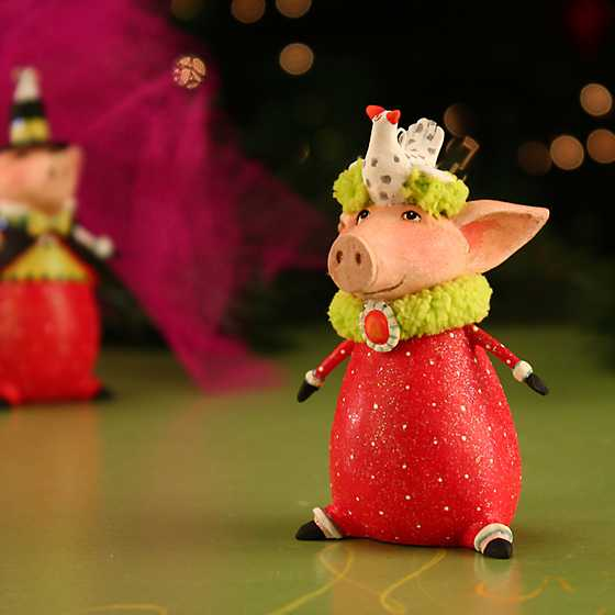 Patience Brewster Phyllis Pig Mini Ornament image two
