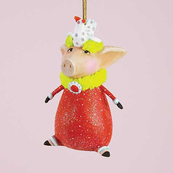 Patience Brewster Phyllis Pig Mini Ornament