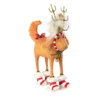 Patience Brewster Douglas Dog Deer Mini Ornament
