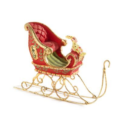 Patience Brewster Dash Away Sleigh Mini Ornament