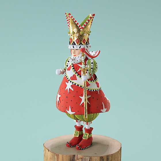 Patience Brewster King of Hearts Ornament