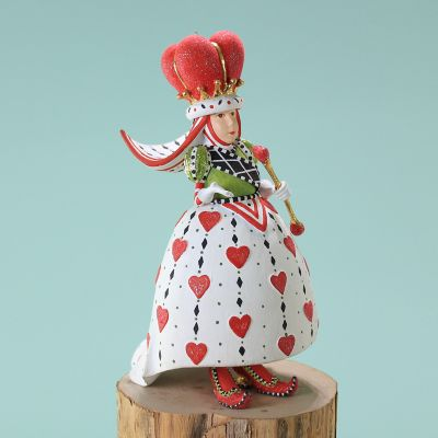 Patience Brewster Queen of Hearts Ornament