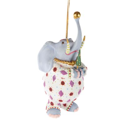 Patience Brewster Eleanor Elephant Ornament