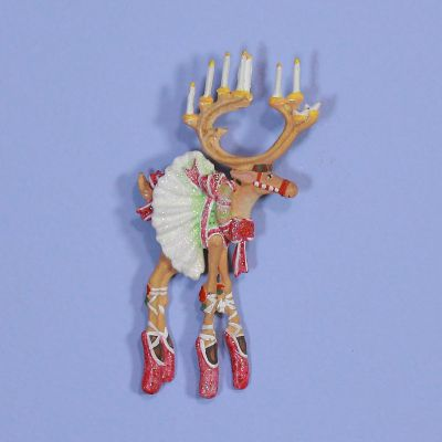 Patience Brewster Dash Away Dancer Reindeer Pin