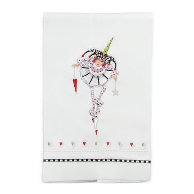 Patience Brewster Joker of Hearts Tea Towel