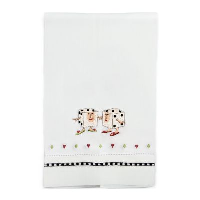 Patience Brewster Pair of Dice Tea Towel