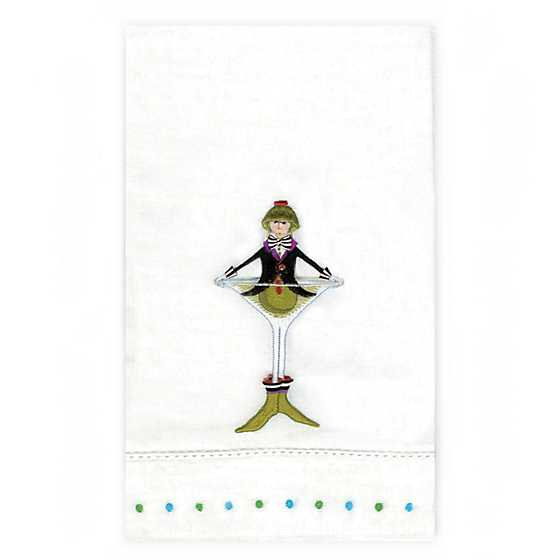 Patience Brewster Oliver Martini Tea Towel