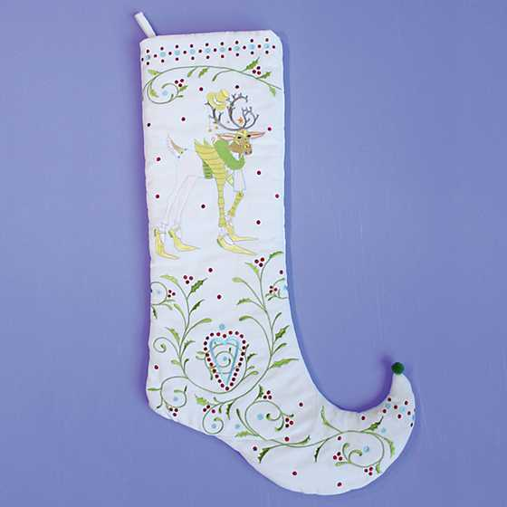Patience Brewster Dash Away Prancer Reindeer Stocking image two