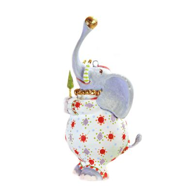 Patience Brewster Jambo Eleanor Elephant Mini Ornament