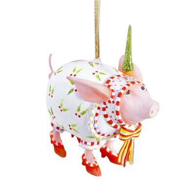 Patience Brewster Nanette Pig Mini Ornament