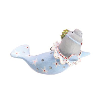 Patience Brewster Mabel Manatee Mini Ornament