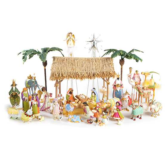 Patience Brewster Nativity World Holy Family Figures image four