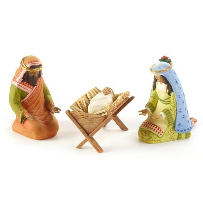 Patience Brewster Nativity World Holy Family Figures
