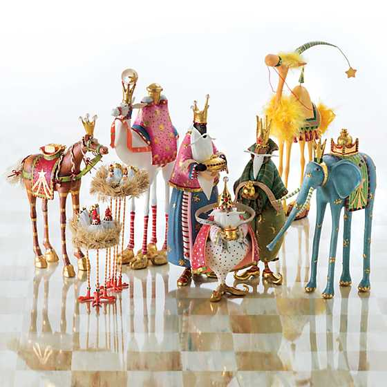 Patience Brewster Nativity World Magi Figures