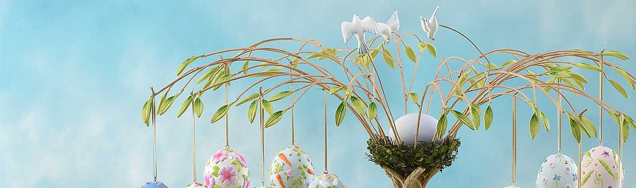 Patience Brewster Egg Tree Banner Image