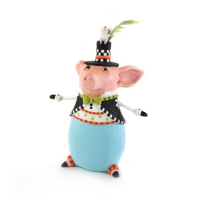 Patience Brewster Francisco Pig Ornament