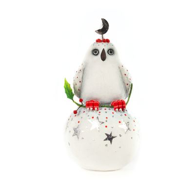 Patience Brewster LLS Dash Away Nova Arctic Owl Ornament
