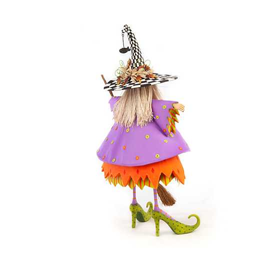 Patience Brewster Raggedy Witch Figure image three
