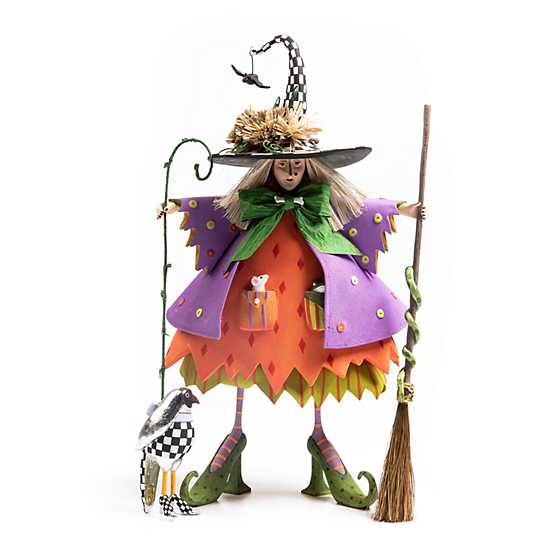 Patience Brewster Raggedy Witch Figure