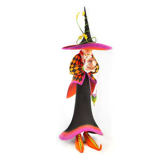 Patience Brewster Crystal Ball Witch Display Figure image one
