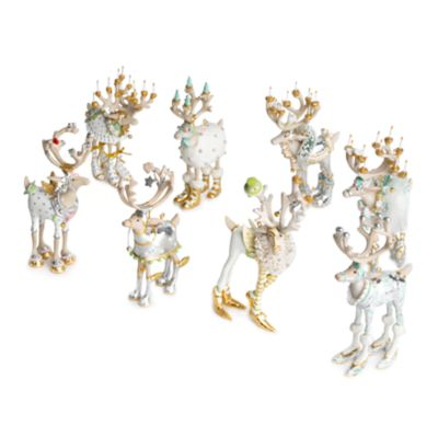Patience Brewster Moonbeam Reindeer Mini Ornaments Set